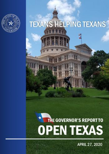 The Governor's Report to Open Texas
